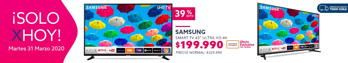Smart TV 43 pulgadas UHD 4K 43NU7090