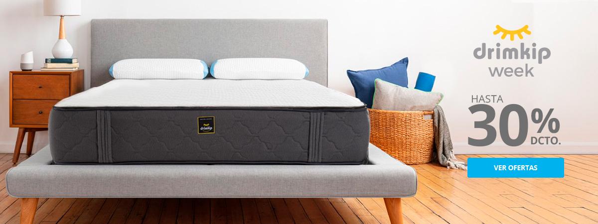 Hasta 30 por ciento de descuento en camas y colchones Drimkip