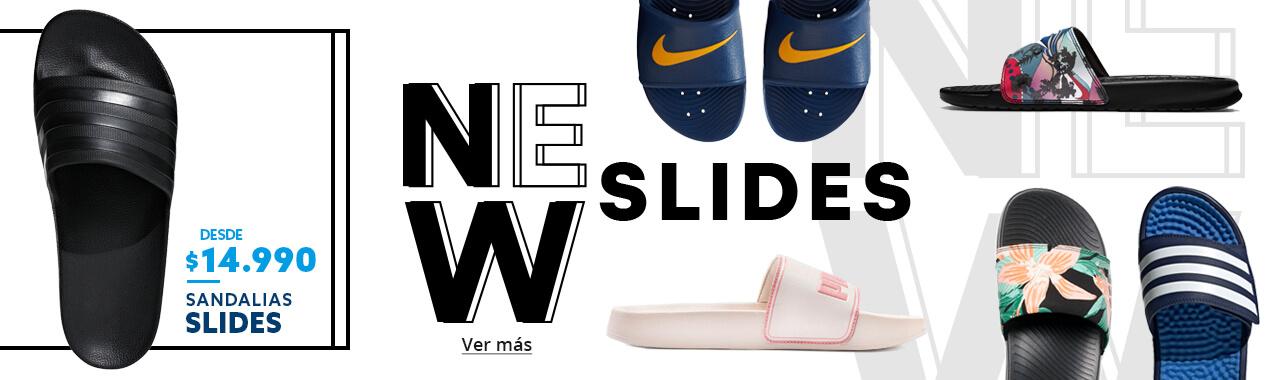 Ver nueva colección Sandalias Slide