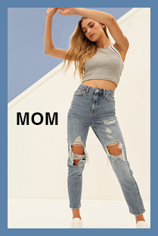 Fit Guide Jeans Mom Mujer