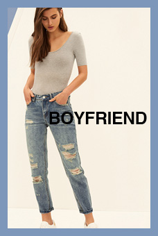 Fit Guide Jeans Boyfriend Mujer